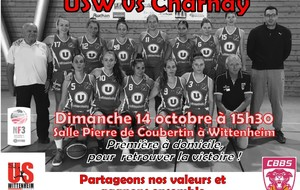 US Wittenheim VS Charnay Basket